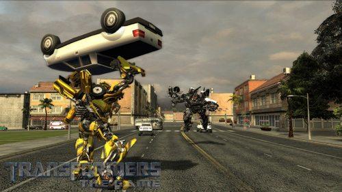 On peut se servir de véhicules en tant qu'armes...
