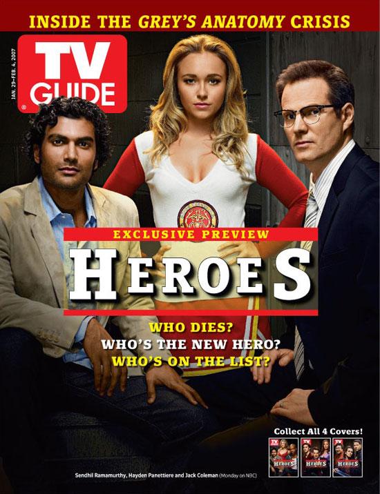 TV Guide Heroes 1