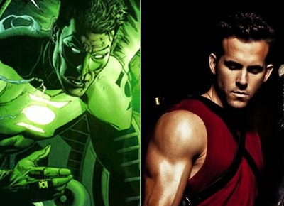Ryan Reynolds est le Green Lantern