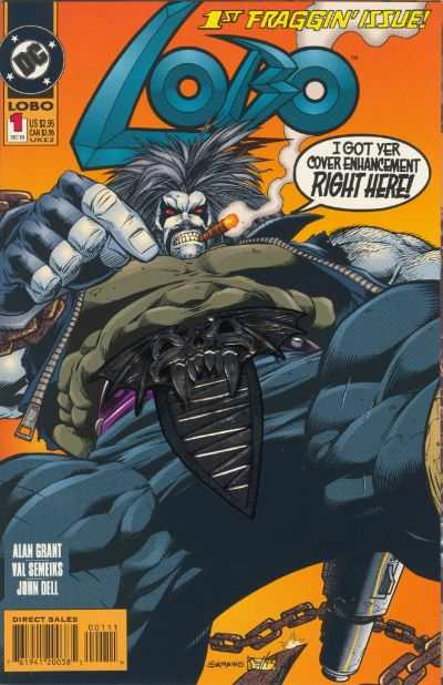 Couverture comics LOBO