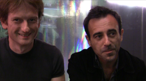 Philippe Roure et Jean Depelley