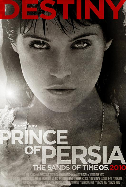 Prince of persia affiche teaser