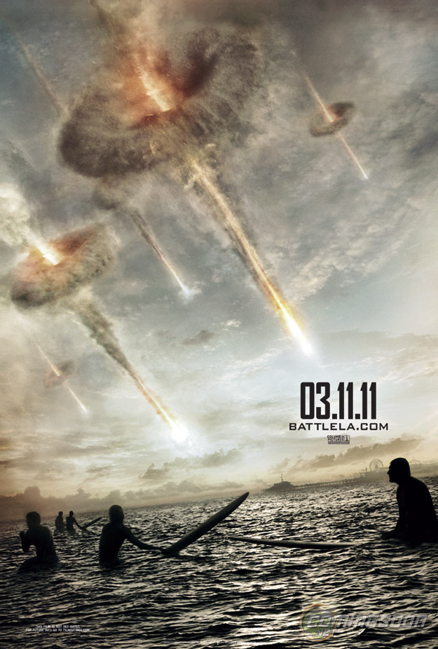 Affiche teaser Battle: Los Angeles