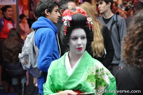 Une geisha à Angoulême ?