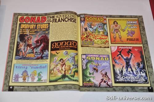Gonad, parodie de Conan