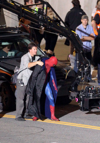 Tournage Spider-Man 2012 - photo 2