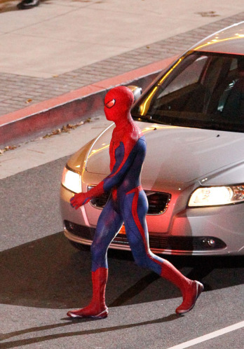 Tournage Spider-Man 2012 - photo 3