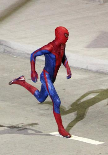 Tournage Spider-Man 2012 - photo 4