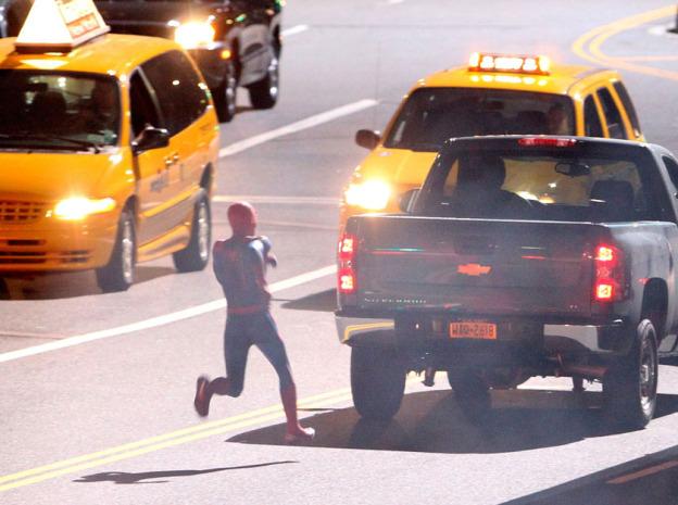 Tournage Spider-Man 2012 - photo 5