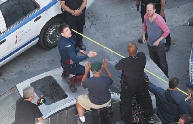 Avengers tournage 1