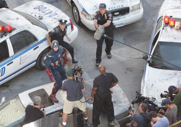 Avengers tournage 2