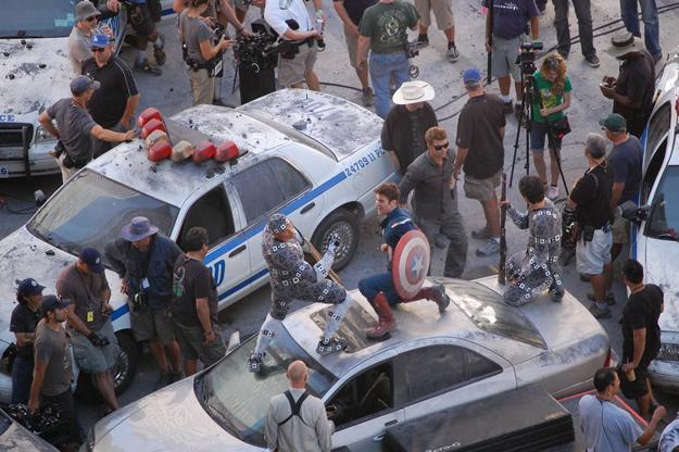 Avengers tournage 6