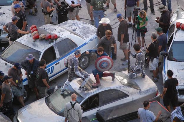 Avengers tournage 7