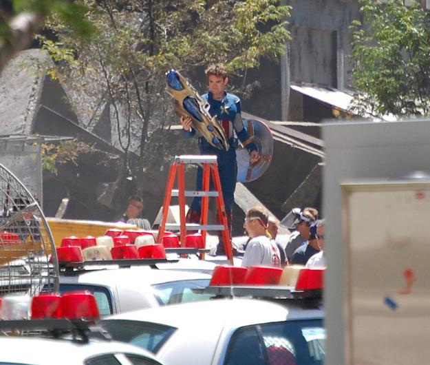Avengers tournage 8