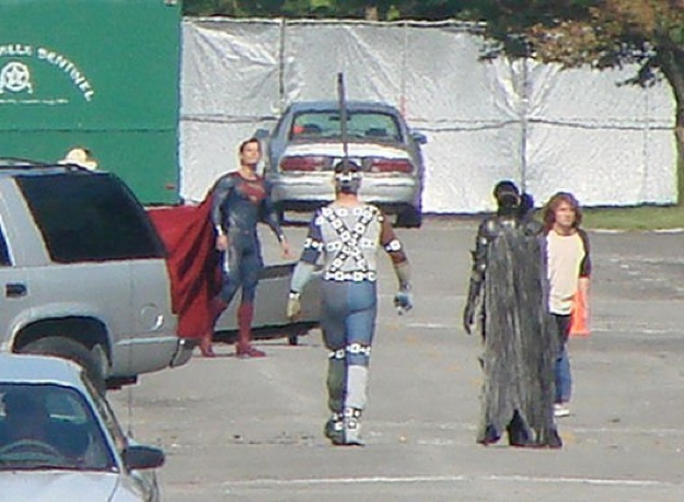 Man of steel - tournage 2