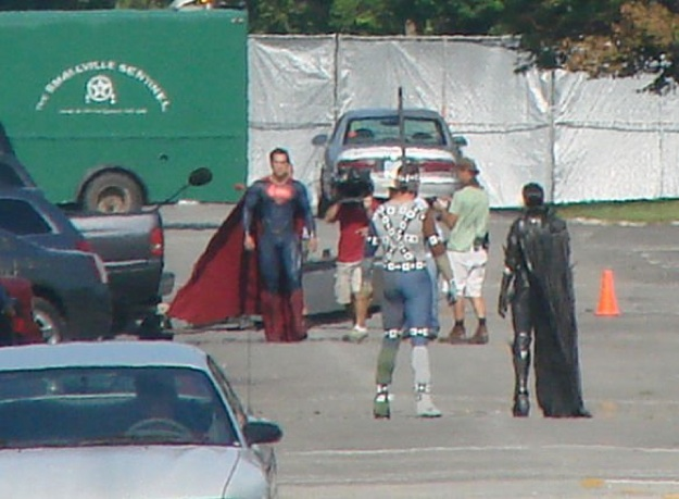 Man of steel - tournage 3