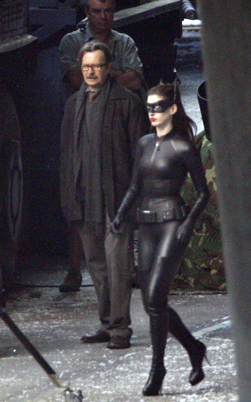 Gordon et Catwoman