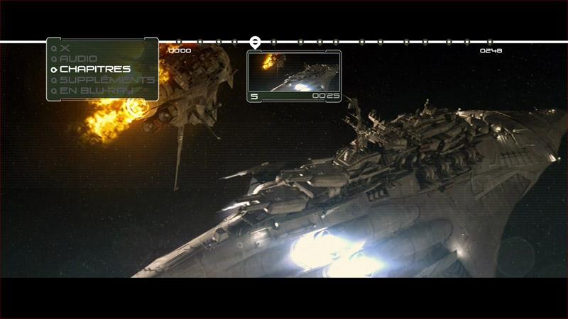 Space battleship chapitres