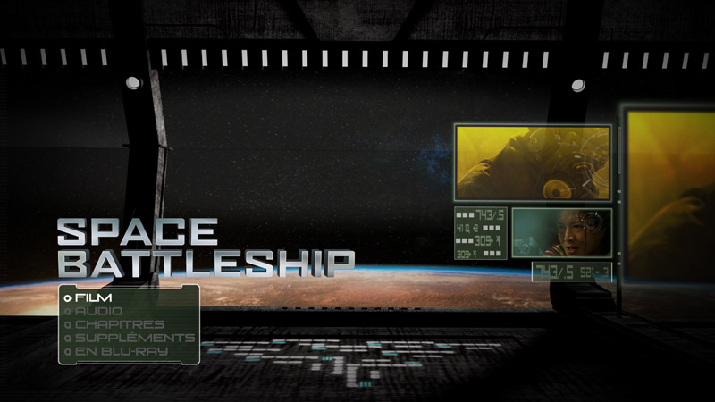 Space battleship menu
