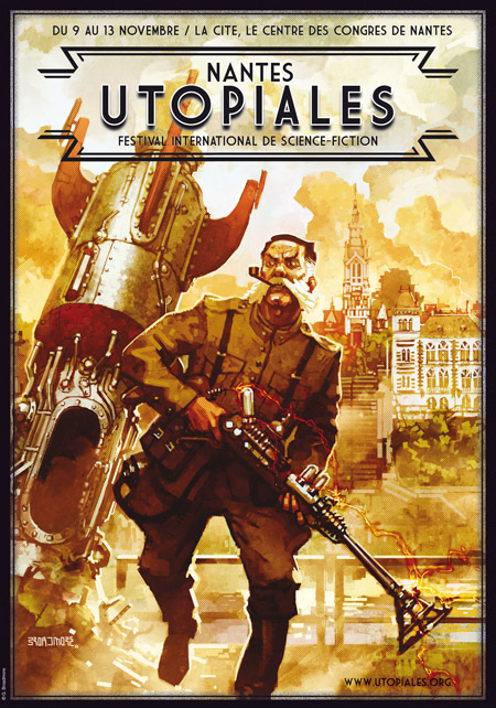 Affiche Utopiales 2011