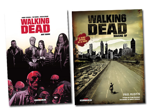 Walking Dead couvertures