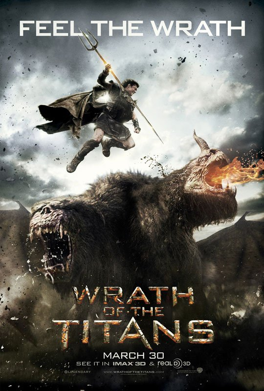 Wrath of the Titans affiche