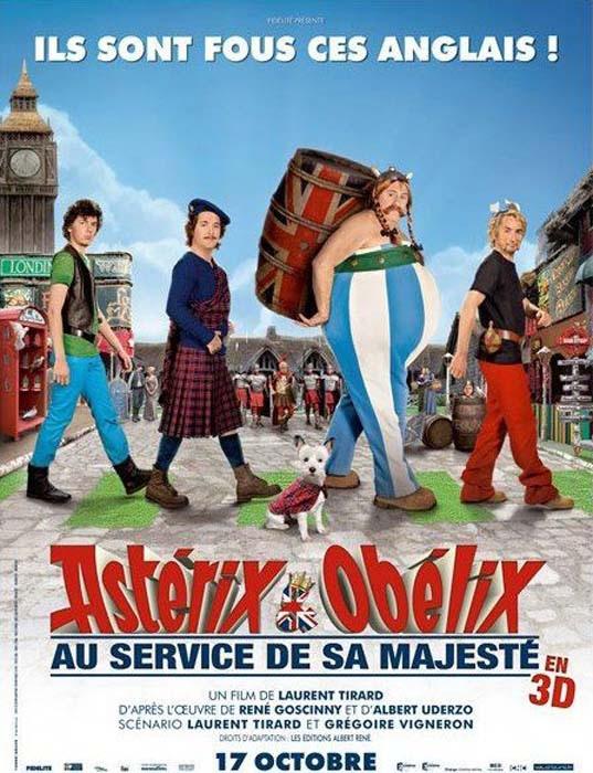 Affiche Asterix 4