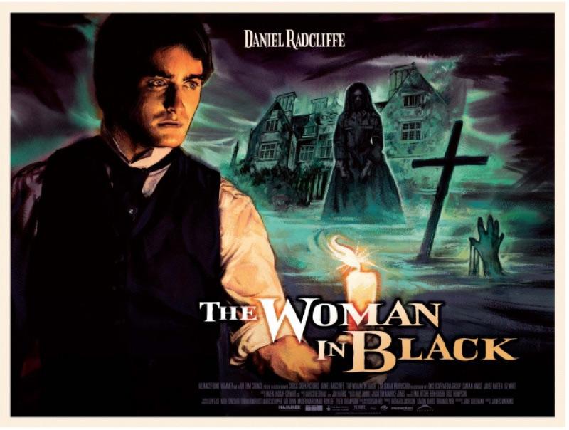 Affiche alternative La dame en noir