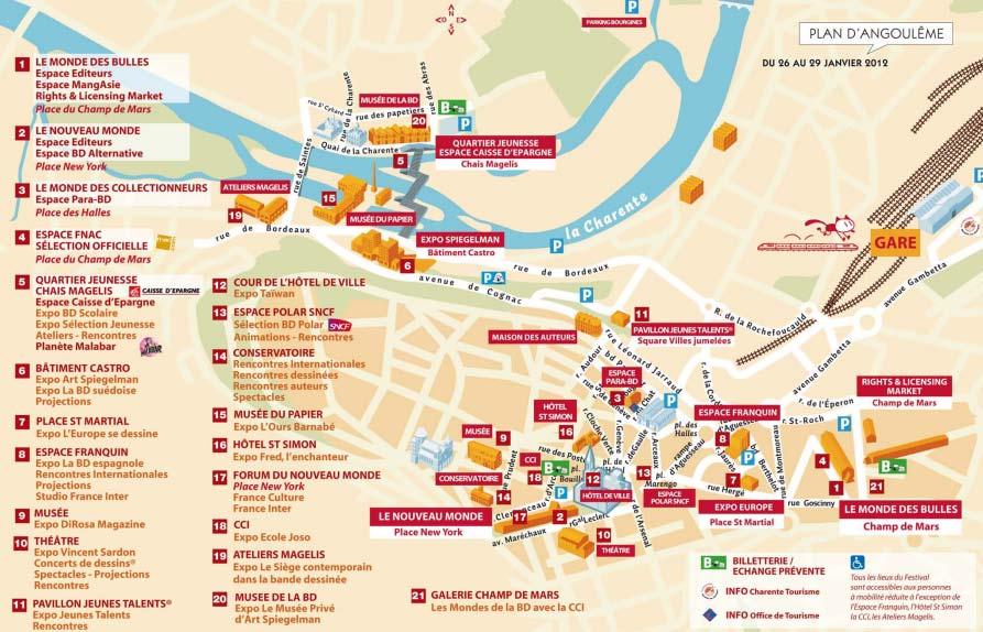 Plan Angouleme