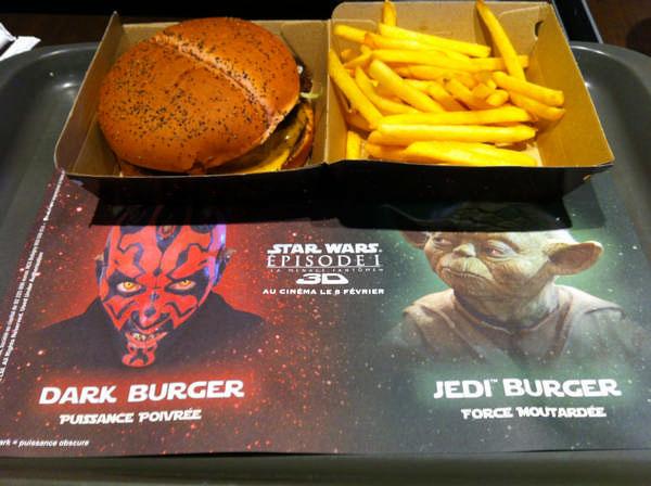 Le Dark Burger en réalité