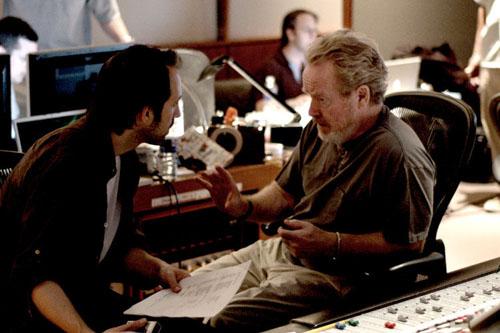 Marc Streitenfeld et Ridley Scott