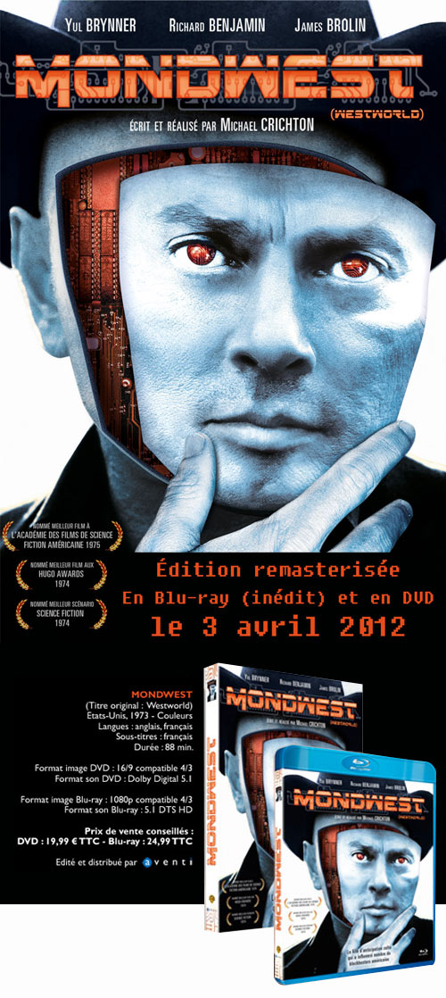 Mondwest en DVD et Blu-ray