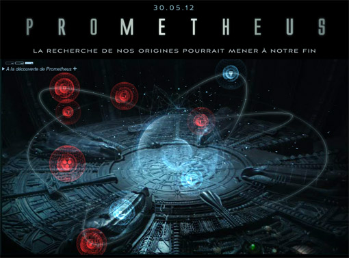Prometheus Star map