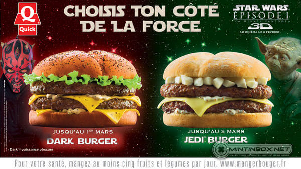 Quick Jedi / Dark Burger