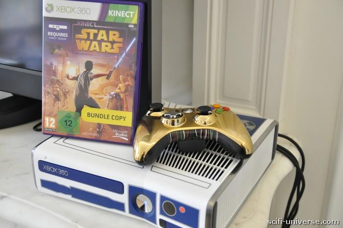 Le jeu et la console Star Wars en édition limitée