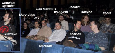 Dans le cinéma