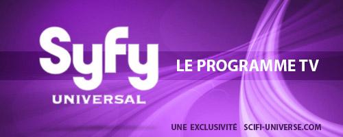 Les programmes TV de SyFy Universal