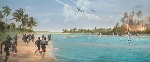 Rogue One : Nouveaux extraits et affiche du prochain Star Wars
