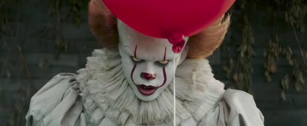 5 films avec des clowns tueurs