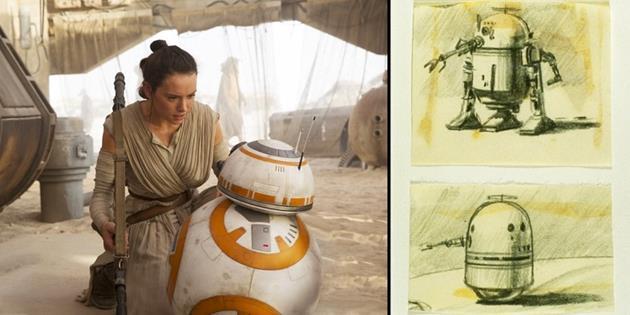 Aux origines de BB-8