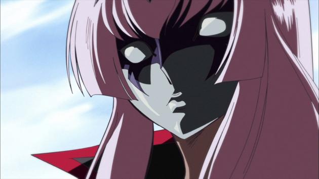 Pourquoi les chevaliers féminins de la série portent-elles des masques ?