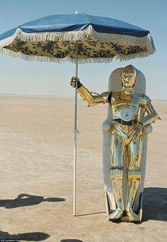 La chaise de tournage de C-3PO