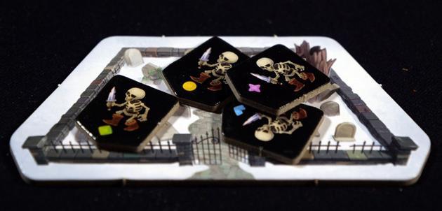 Bad Bones cimetière squelettes