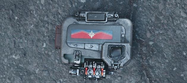 Beeper pour appeler Captain Marvel