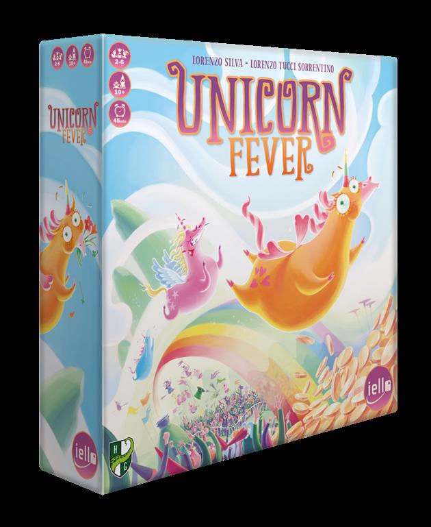 Boite jeu de société Unicorn Fever