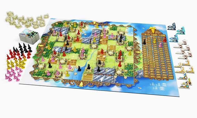 Bunny Kingdom Plateau de jeu