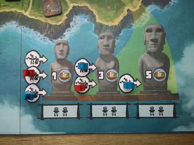 Carrière moaï jeu Rapa Nui