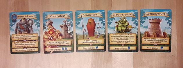 cartes quêtes Age of Towers