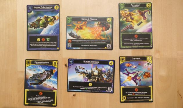Cartes Star realms Colony Wars