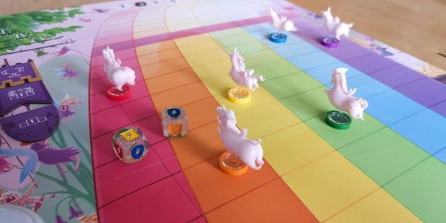 Course jeu Unicorn Fever